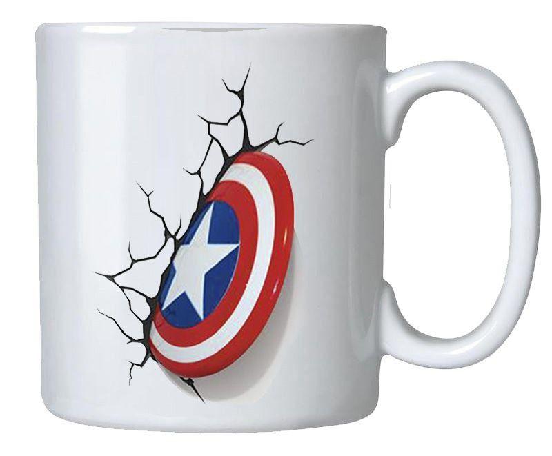 Caneca Escudo Capitão America