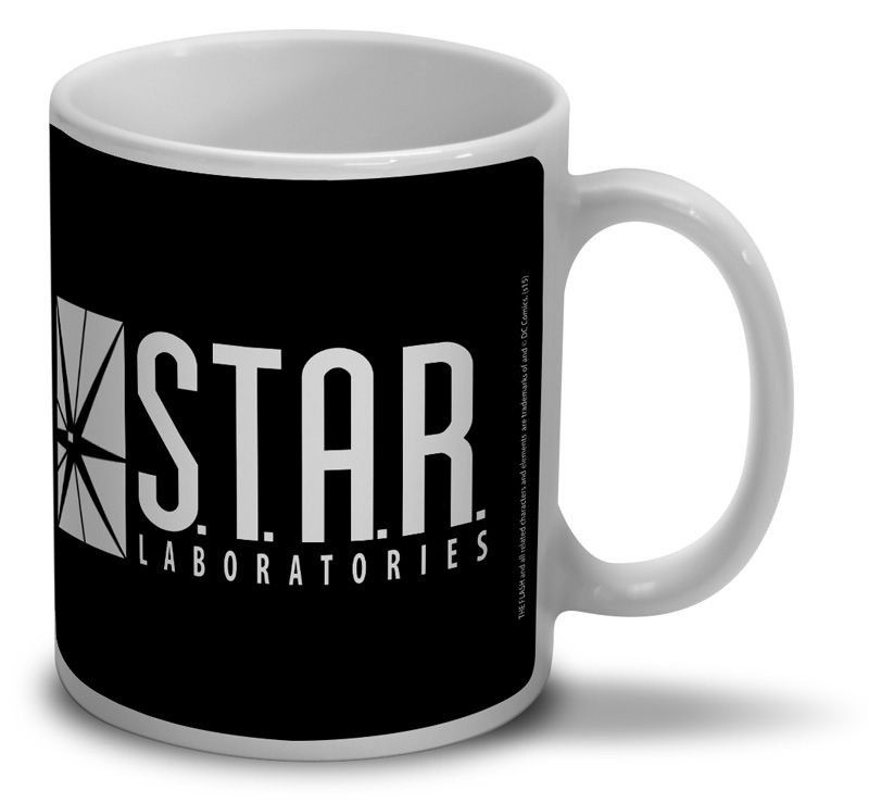 "Caneca Flash ""S.T.A.R. Laboratories"""