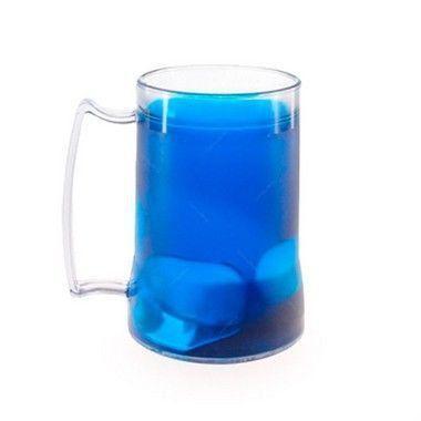 Caneca Gel Congelante para Chopp - 50 Peças