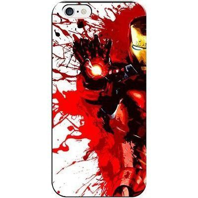 Capa De Celular Iphone (Todos Modelos) Homem De Ferro