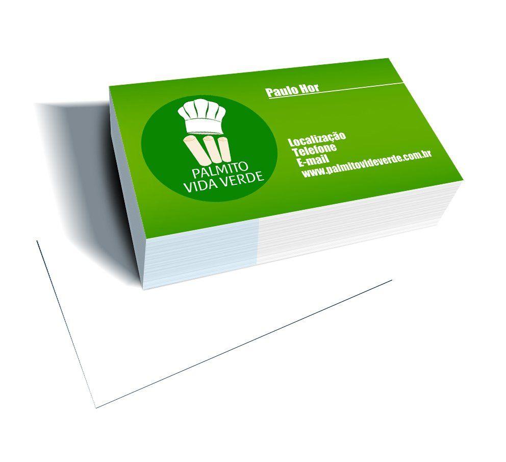 Cento Cartão - Impressão Laser Digital 220gr - frente