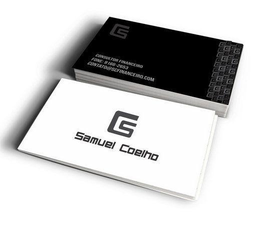 Cento Cartão - Impressão Laser Digital  220gr - Frente e verso
