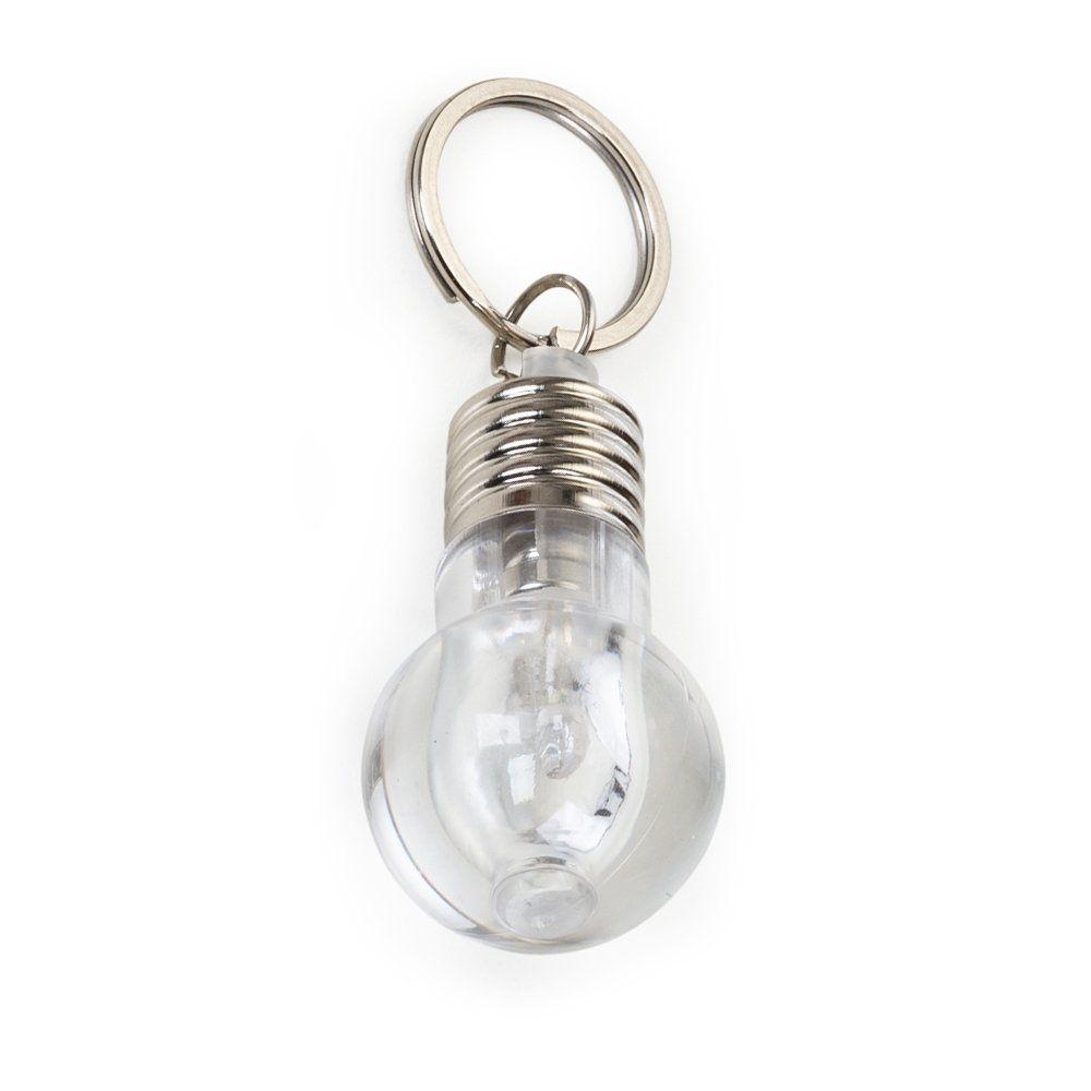 Chaveiro Formato Lampada Com Luz