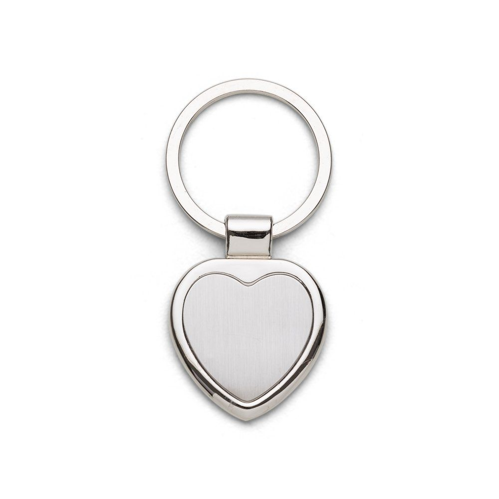 Chaveiro Metal Formato Coração