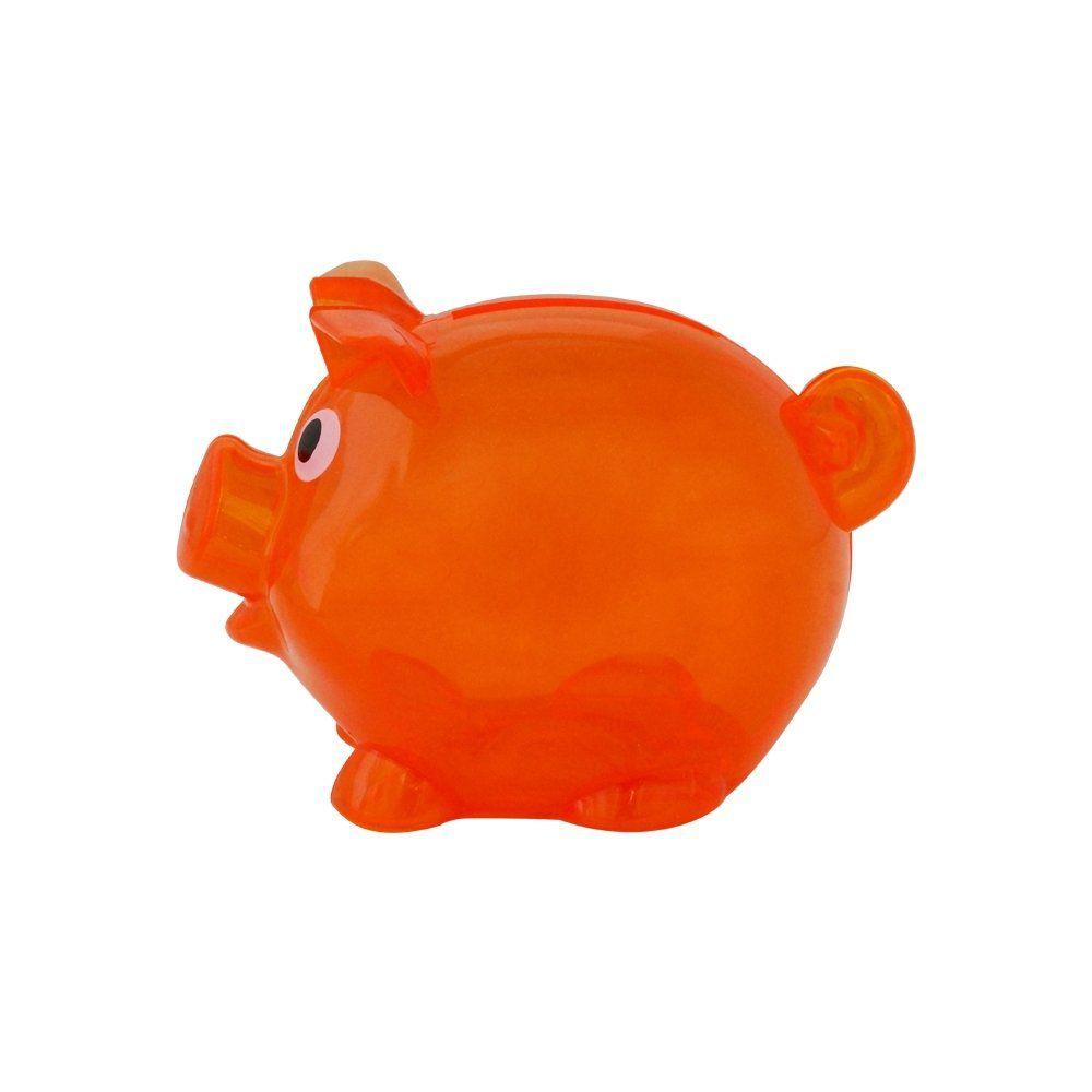 Cofre Plastico Resistente Porquinho