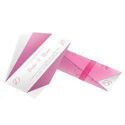 Convite Casamento - 100 unid - Moderno 01