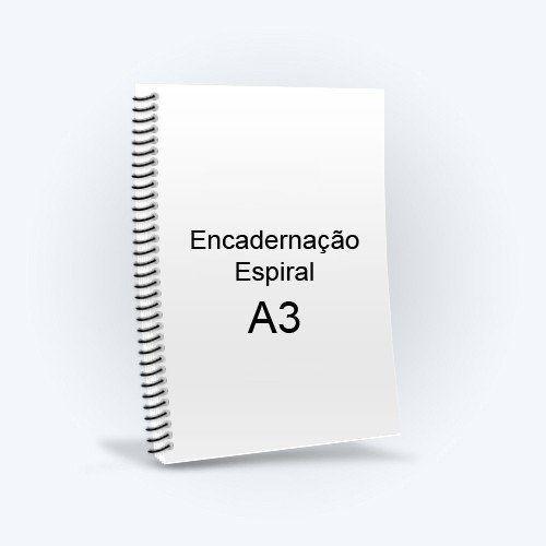 Encadernação A3