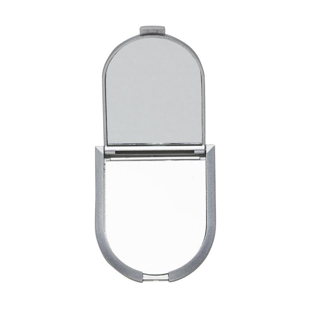 Espelho De Bolso Duplo Com Aumento
