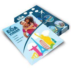 Folhetos/ Flyers  10x15cm 115GR Frente e Verso 2500 unid OFFSET