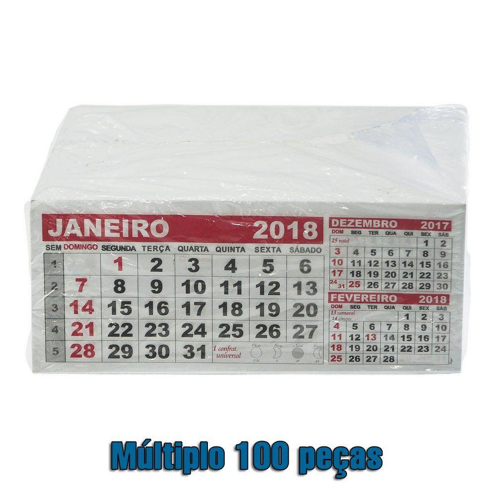 Folhinha Calendario