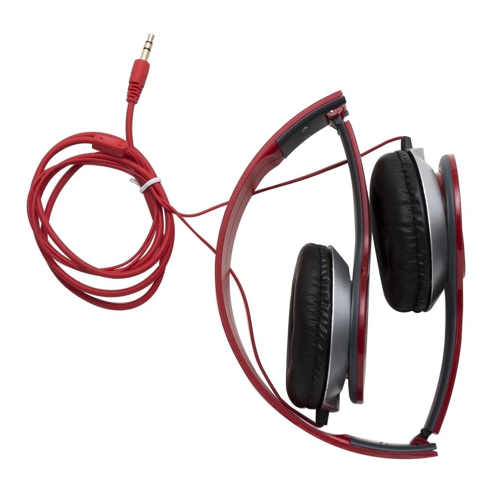 Fone De Ouvido Headphone Com Fio Estéreo Dobrável