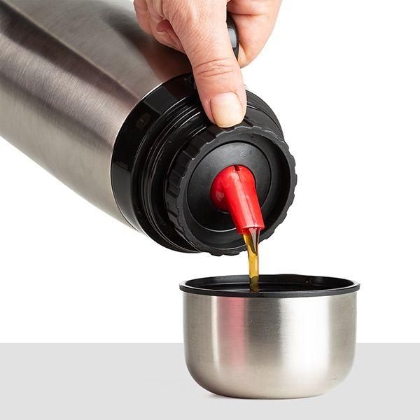 Garrafa Térmica 1 Litro Inox