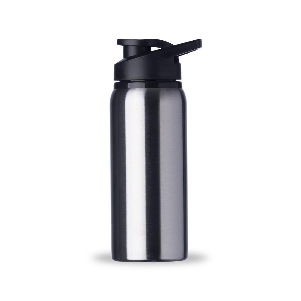 Garrafas Squeeze de Alumínio Fosca Personalizadas - Capacidade de 600mL