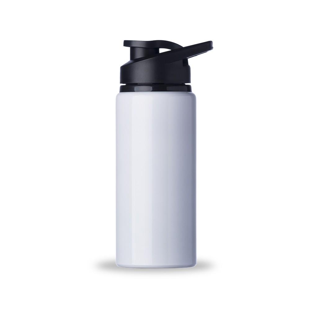 Garrafas Squeeze de Alumínio Brilhante Personalizadas - Capacidade de 600ml