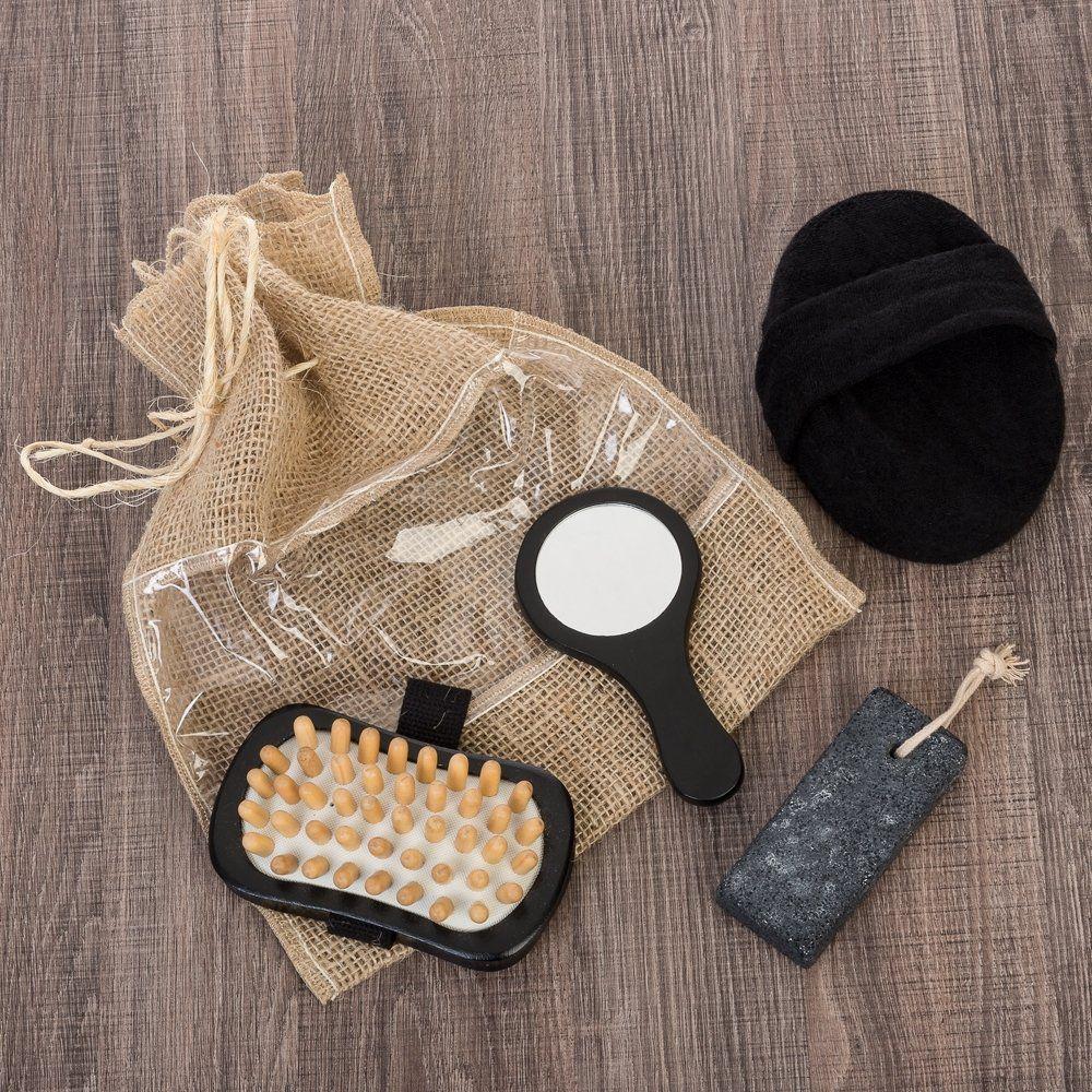 Kit Banho Ecológico Com 4 Pçs