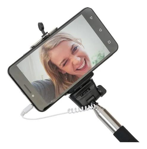 Kit Selfie Monopod + Botão Para Acionar