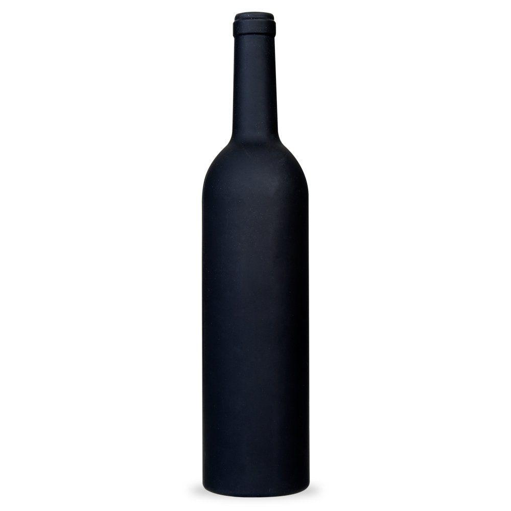 Kit Vinho Plástico Resistente 5 Peças Formato Garrafa