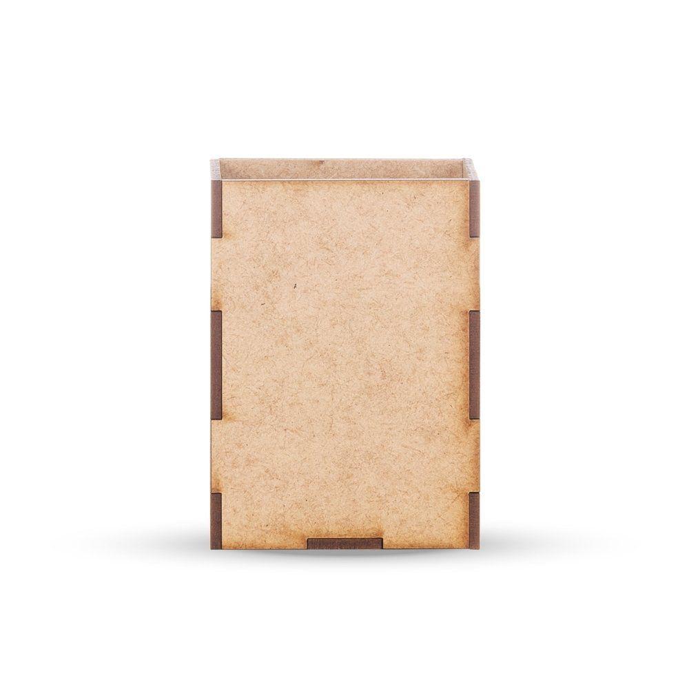 Porta Caneta + Porta Retrato Em Mdf