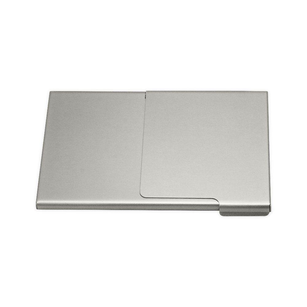 Porta Cartão De  Alumínio Com Espelho