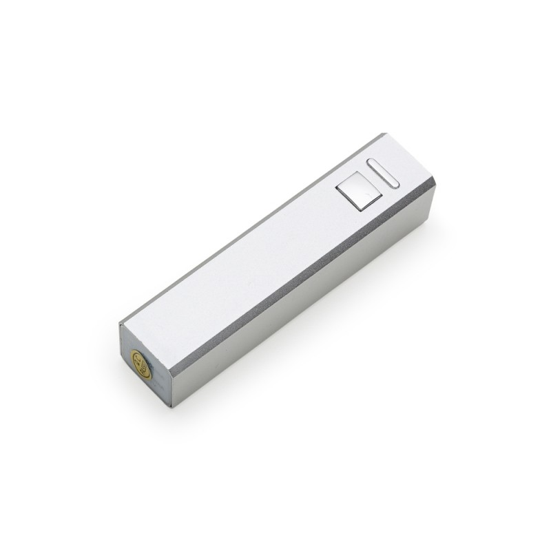 Power Bank Metálico Simples Cabo USB