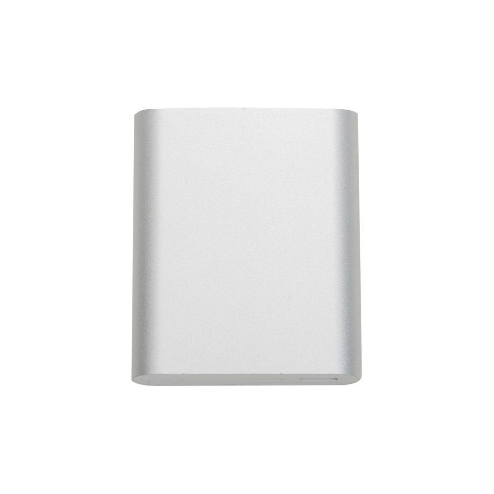 Powerbank Metálico Com 4 Baterias Internas