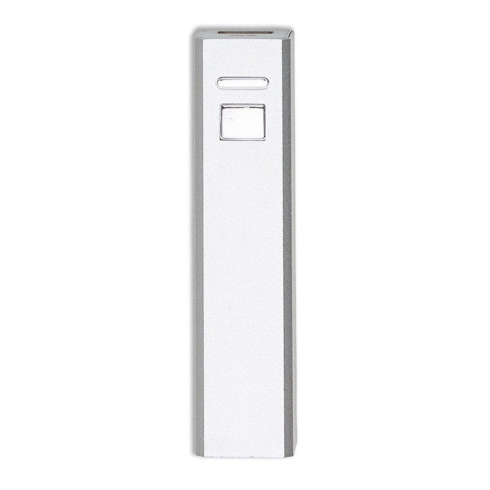 Powerbank Metálico Simples Cabo Usb