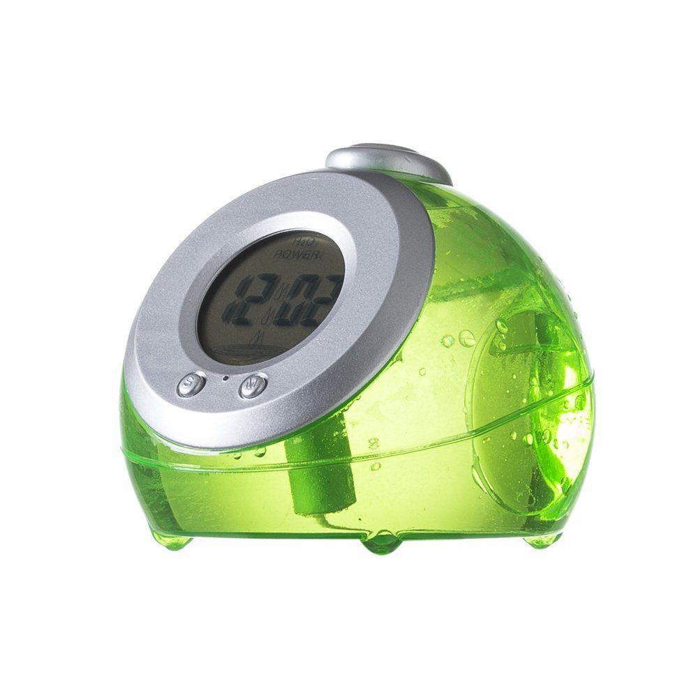 Relógio Plastico Digital Moviado A Água