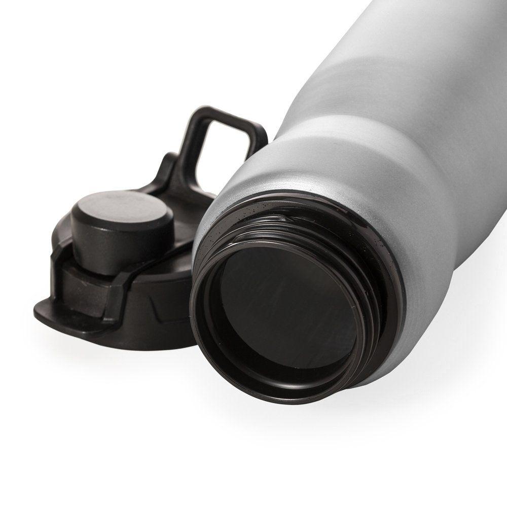 Squeeze Aluminio 750ml E Tampa Com Trava