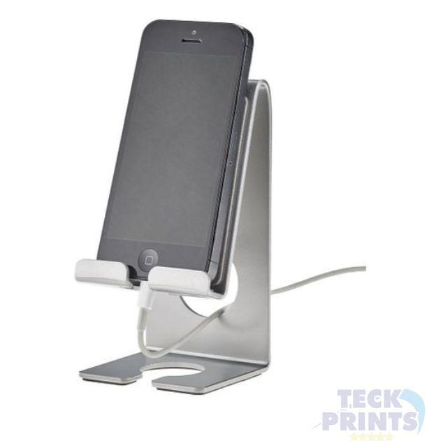 Suporte Metal De Mesa Para Celular/ Tablet