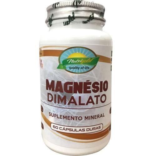 10 x Magnésio Dimalato - 600 Cápsulas - 2x Dia