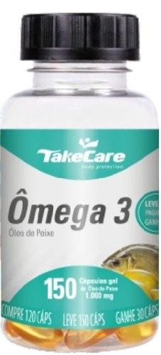 Omega 3 Oleo De Peixe 150 Capsulas 1000 Mg
