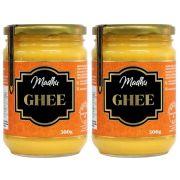 Kit 2 Manteiga Ghee 500g Tradicional Clarificada Zero Lactose