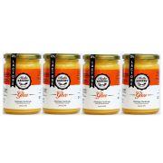Kit 4 Manteiga Ghee 300g Tradicional Clarificada 0% Lactose/Glúten - Madhu Bakery