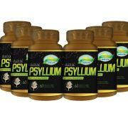 Kit 6 Psyllium 60 Cápsulas Softgel Nutri Gold