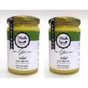 Kit 2 Manteiga Ghee 300g Alecrim Clarificada Zero Lactose Zero Gluten Madhu Bakery