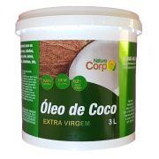 Óleo De Côco Extra Virgem 3 Litros - Prensado A Frio