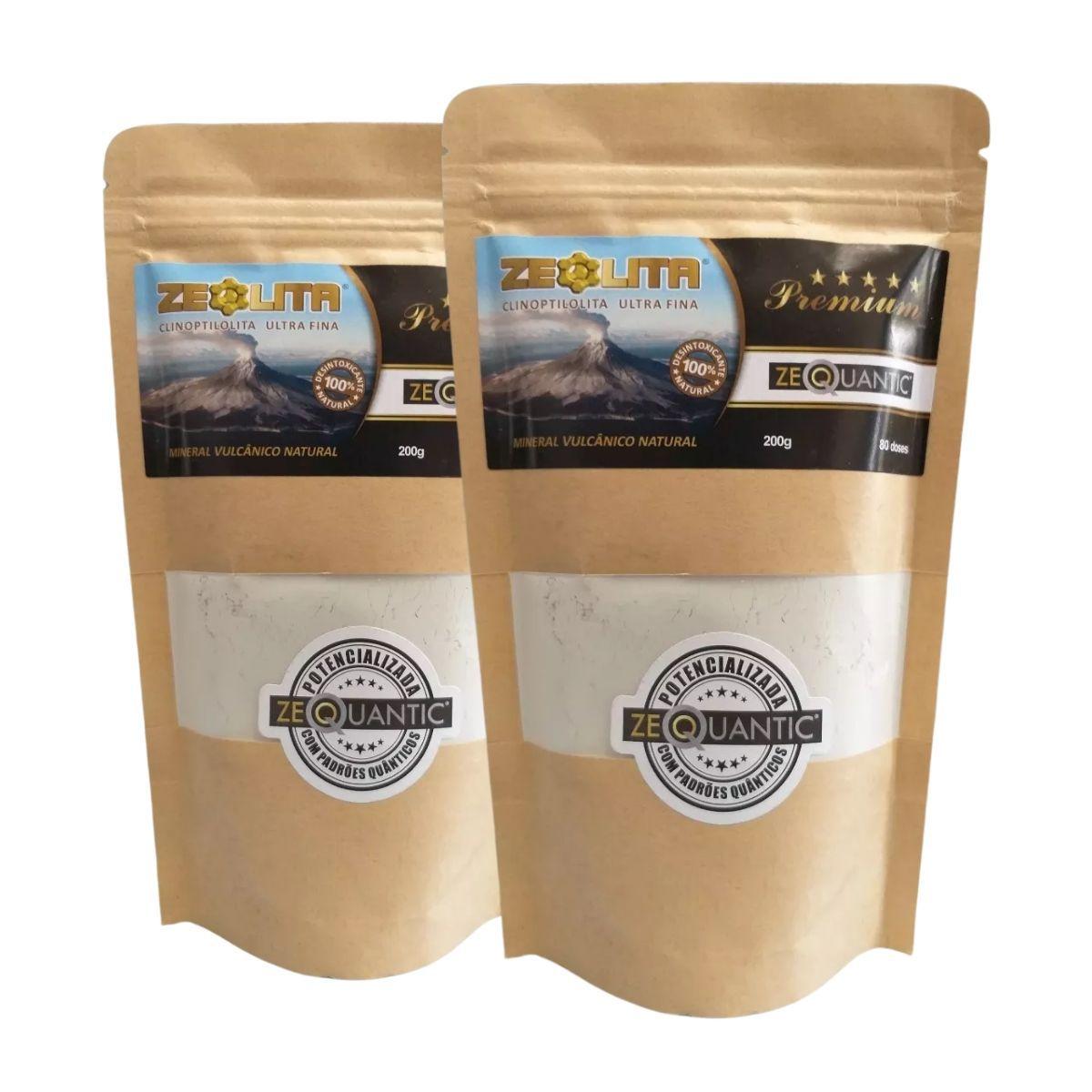 2x Zeólita Premium 200g Potencializada