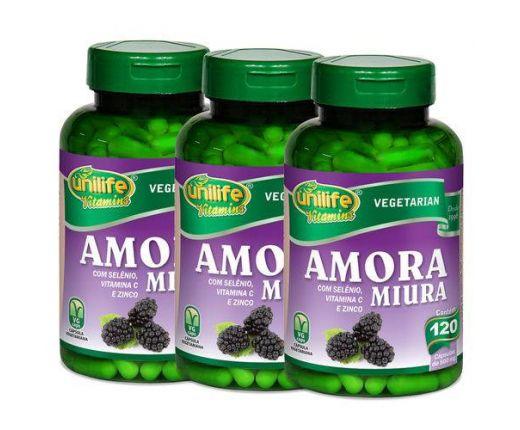 3x Amora Miura Total 360 Cápsulas - Unilife Vitamins