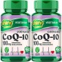 Kit 2 Coenzima Q10 100mg 60 Cápsulas - Unilife