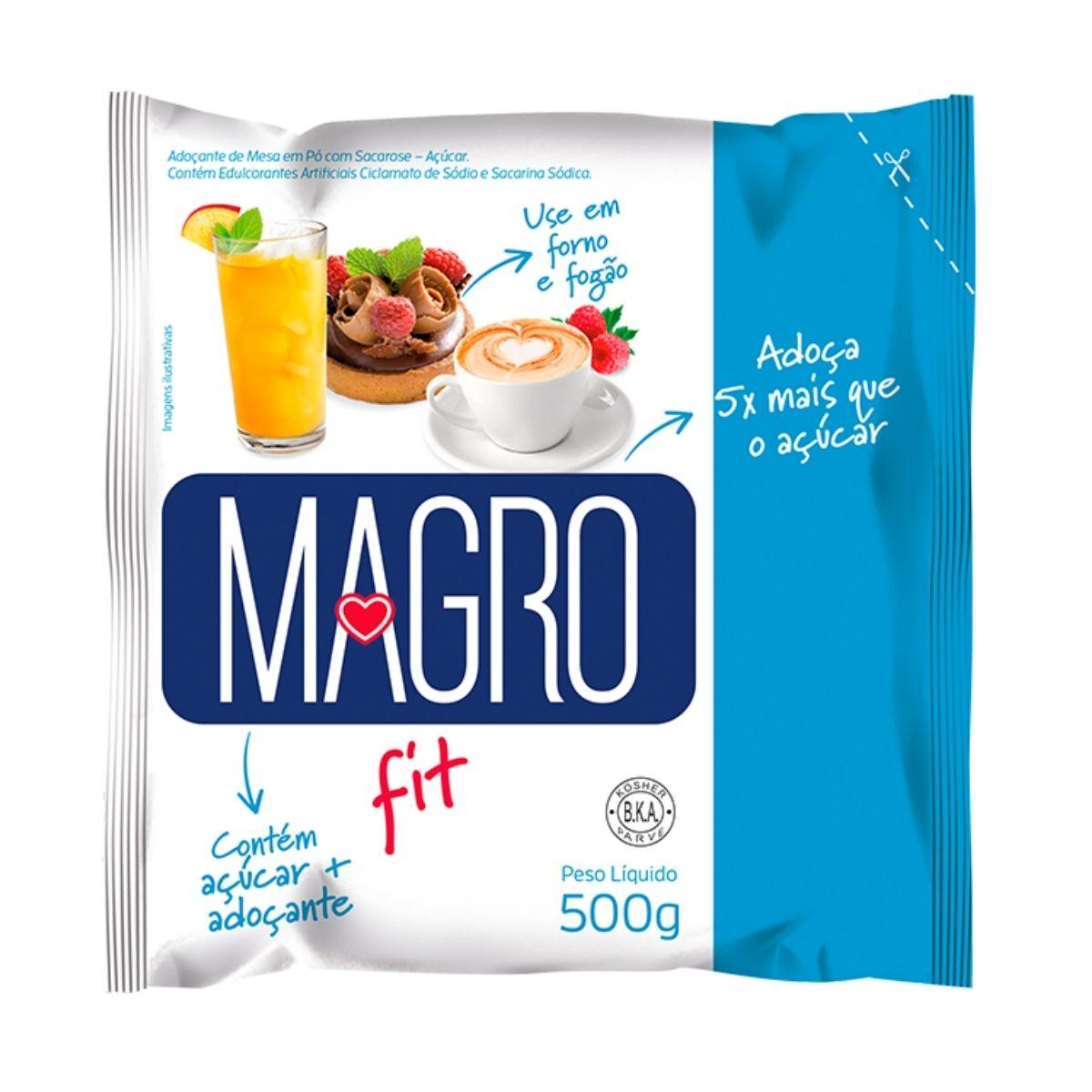 Açúcar Light Magro 500g - Forno e Fogão