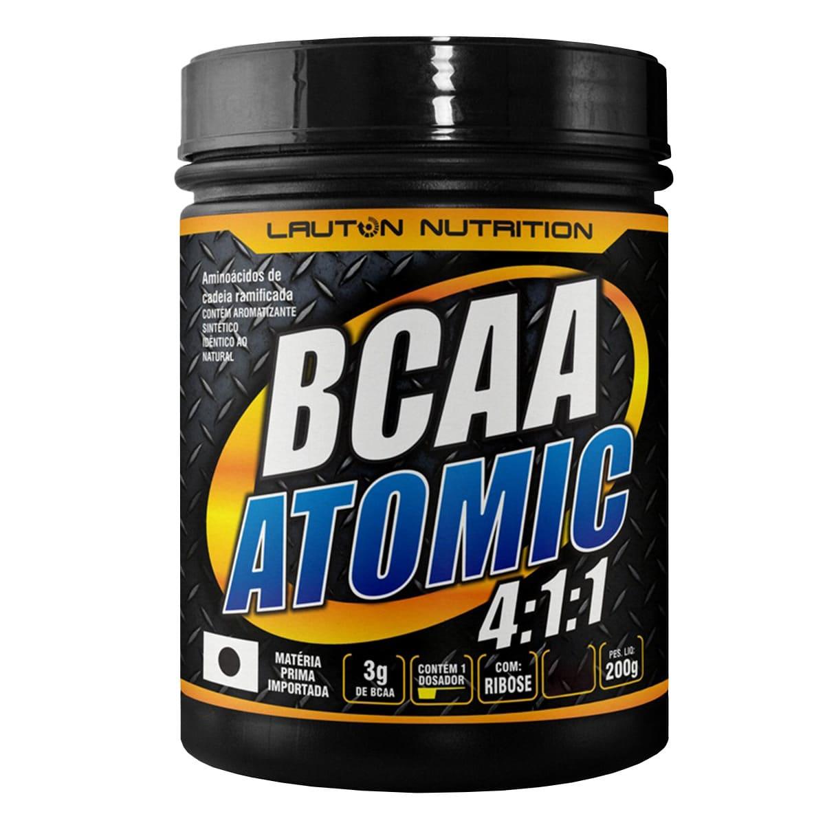 BCAA Atomic 4:1:1 200g - Lauton Nutrition