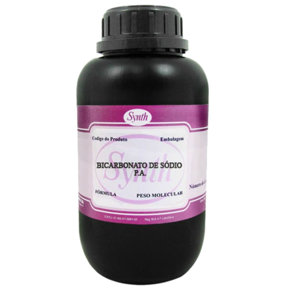 Bicarbonato De Sódio Pa 1 Kg - Laudo De Pureza