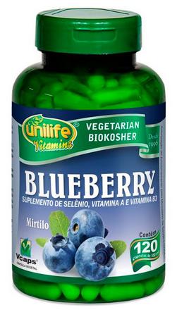 Blueberry Mirtilo Antioxidante 120 Cápsulas 550mg - Unilife