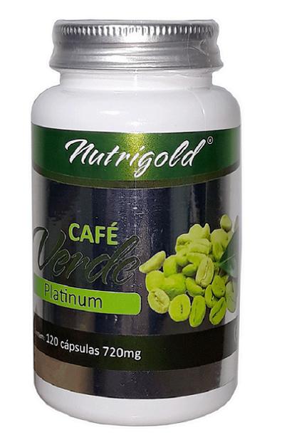 Café Verde Platinum 120 Cápsulas 720 mg