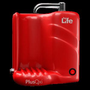Filtro Purificador Alcalino e Ionizado C/ Ozônio - Plus Oxi Vermelho 110V - Top Life - Frete Grátis