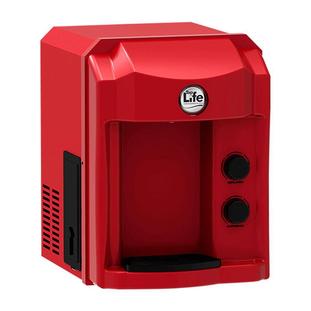 Filtro Purificador Alcalino e Ionizado Top Life - Vermelho