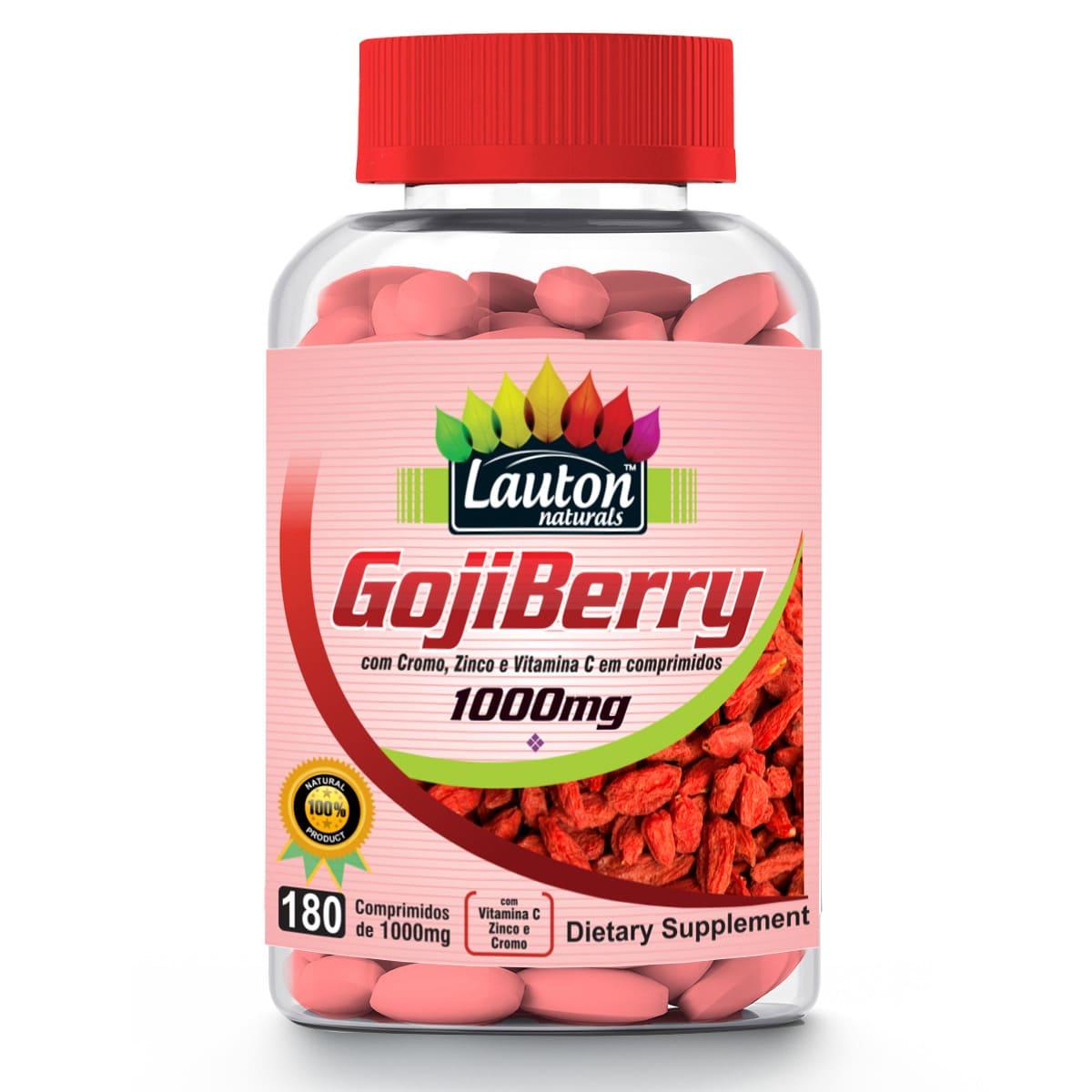 Goji Berry Lauton Nutrition 180 Comprimidos 1000mg