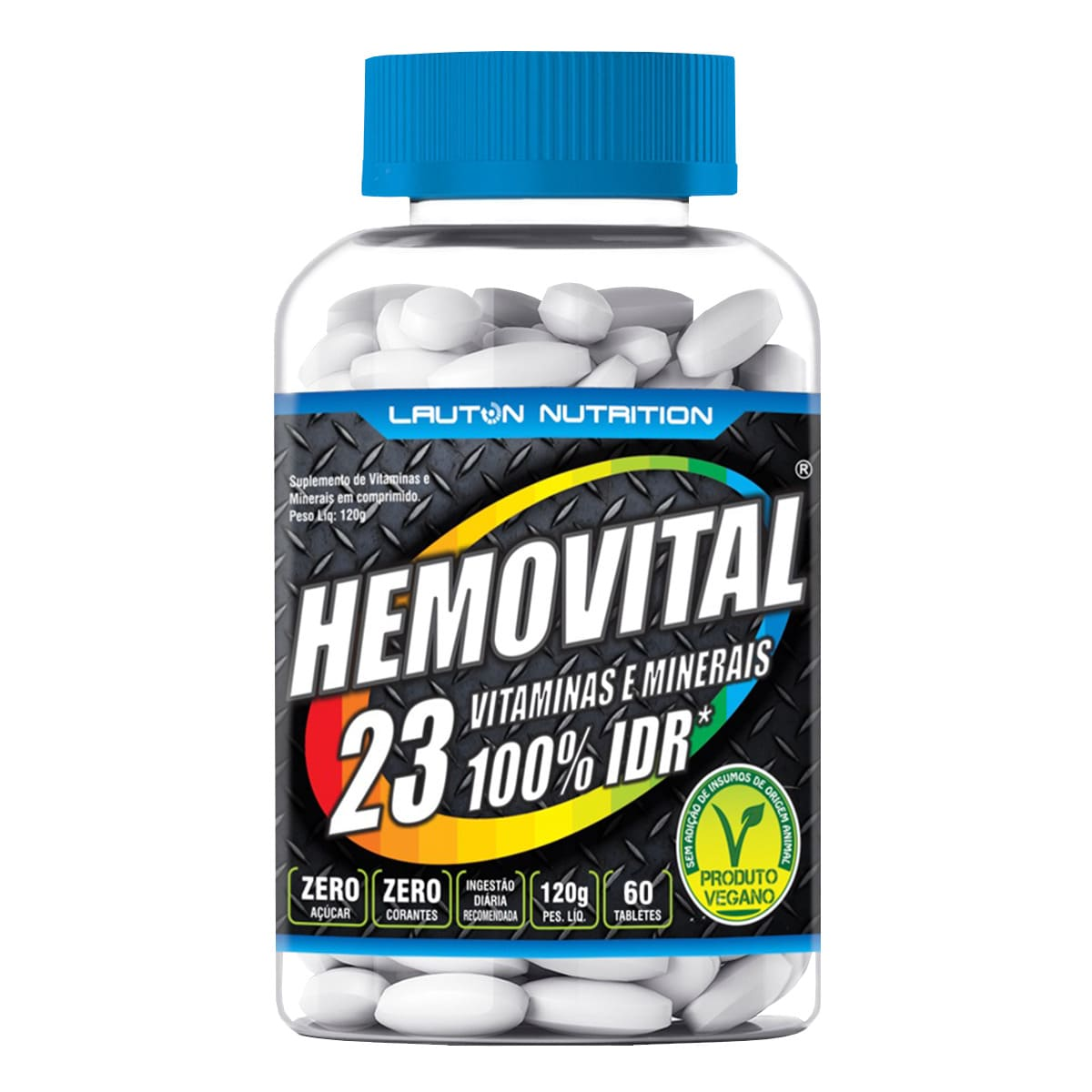 Hemovital Polivitamínico 60 Tabs - Lauton Nutrition