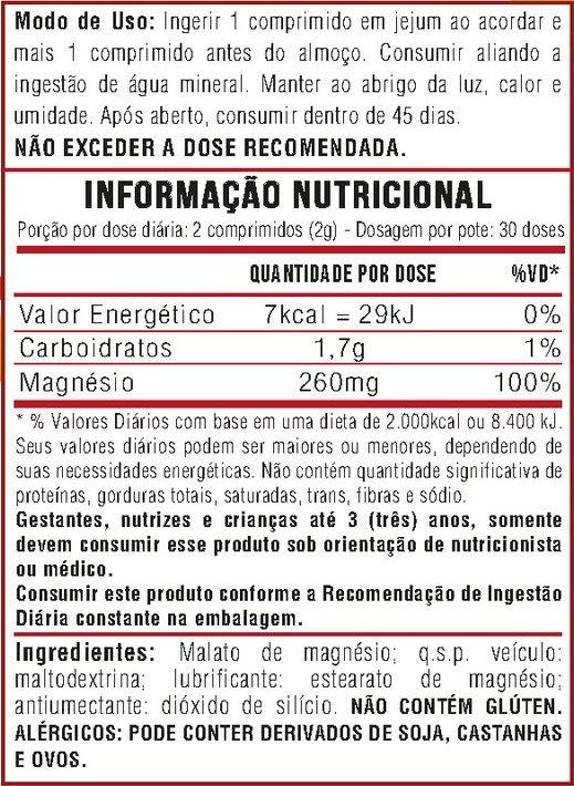 Kit 10 x Magnesio Dimalato - 600 Comprimidos