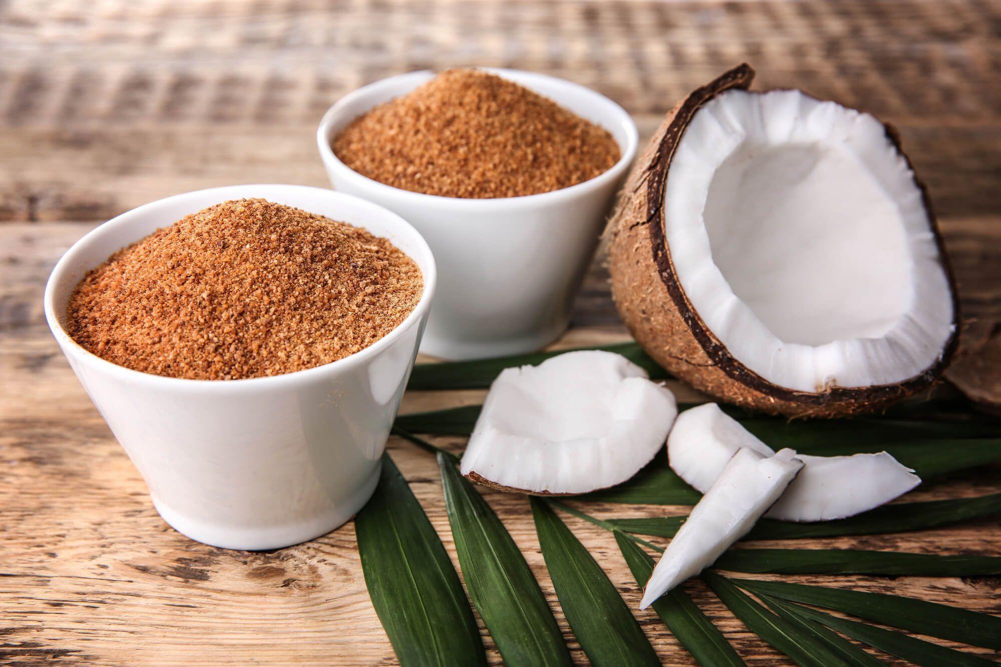Kit 2 Açúcar de Coco 1kg - 100% Puro e Natural